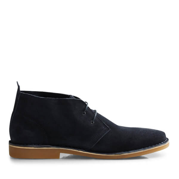 Bottines Gobi Suede Desert Homme Jack & Jones -Marine