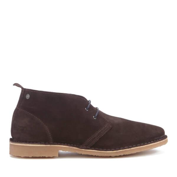 Jack & Jones Men's Gobi Suede Desert Boots - Java