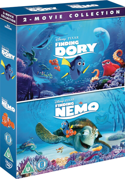 Finding Dory Finding Nemo Double Pack Dvd Zavvi