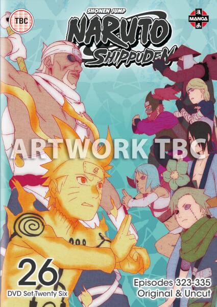 Naruto Shippuden Box 26 (Episodes 323-335)