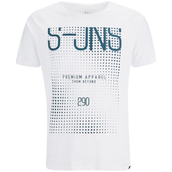 T-Shirt Smith & Jones pour Homme Cenotaph -Blanc