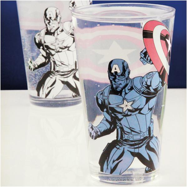 Verre Thermosensible Captain America – Marvel