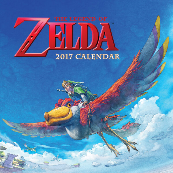 The Legend of Zelda Calendar 2017