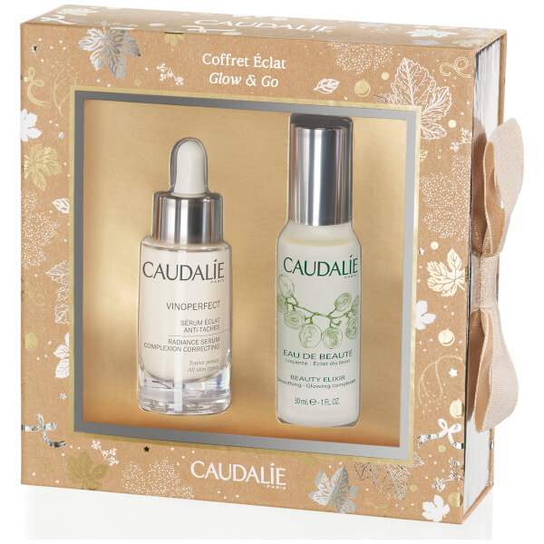 Caudalie Glow and Go Christmas Set (Worth £57)