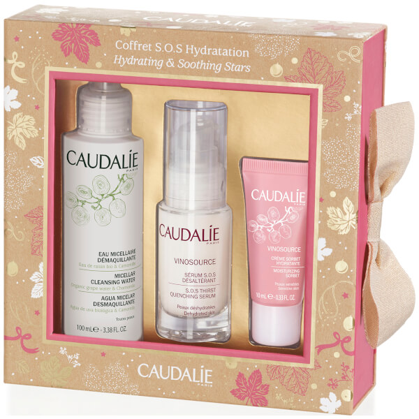 Caudalie Hydrating and Soothing Stars Christmas Set