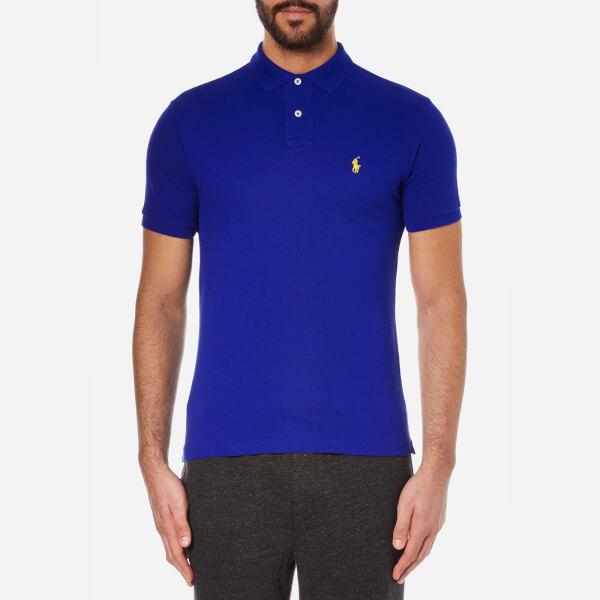 Polo Ralph Lauren Men's Slim Fit Short Sleeved Polo Shirt - Heritage Royal