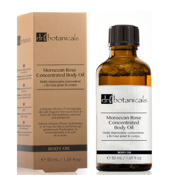 Dr Botanicals Moroccan Rose Concentrated Body Oil 50ml