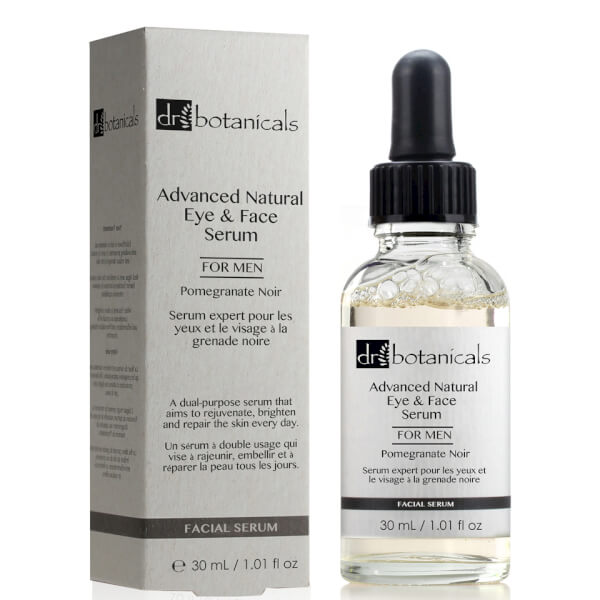 Dr Botanicals Pomegranate Noir Advanced Natural Eye & Face Serum For Men 30ml