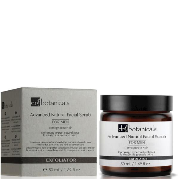 Dr Botanicals Pomegranate Noir Advanced Natural Facial Scrub For Men 50ml