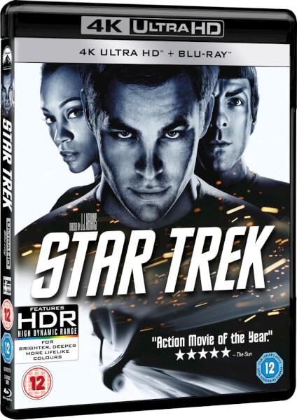 Star Trek 4k Ultra Hd Blu Ray Zavvi