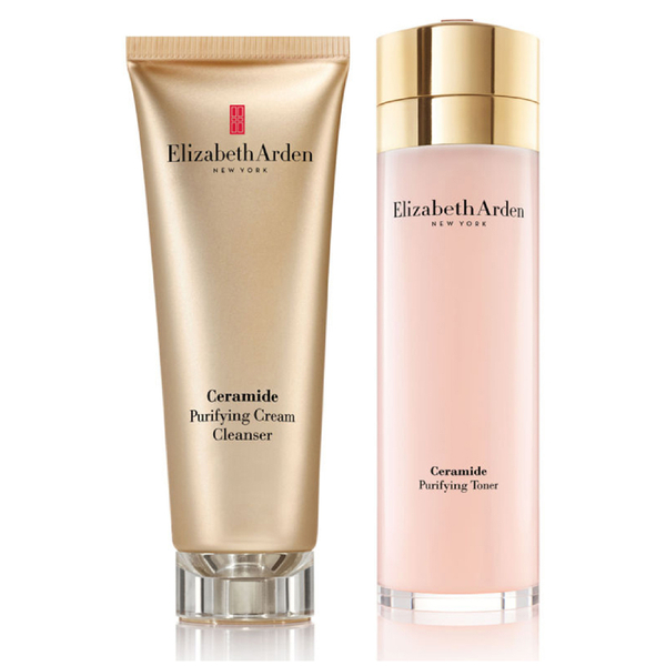 Elizabeth Arden Ceramide Purifying Cleanser and Toner Set