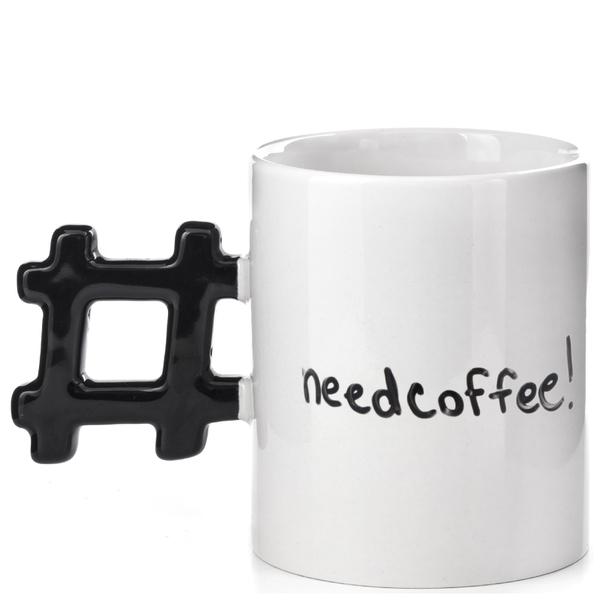 Morning Hashtag Mug