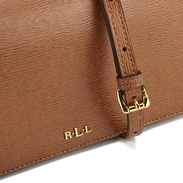 e7ad6453307b Lauren Ralph Lauren Women s Newbury Multi Cross Body Bag - Tan  Image 4