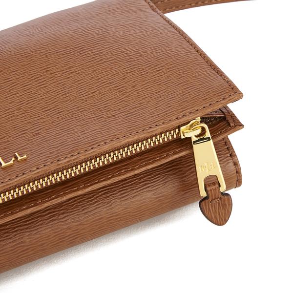 66106d20225d Lauren Ralph Lauren Women s Newbury Multi Cross Body Bag - Tan  Image 5