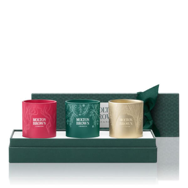 Molton Brown Festive Adorned Candle Set (Worth $82.50)