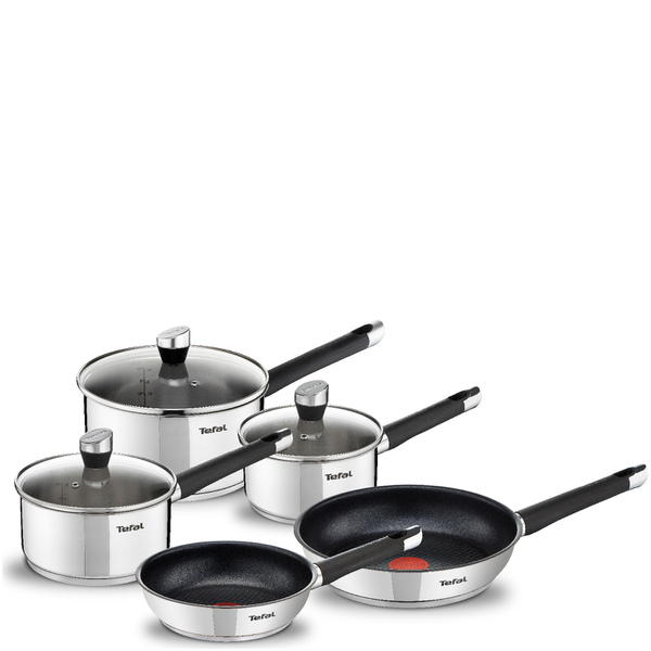 tefal e824s544 emotion stainless steel 5 piece set homeware. Black Bedroom Furniture Sets. Home Design Ideas