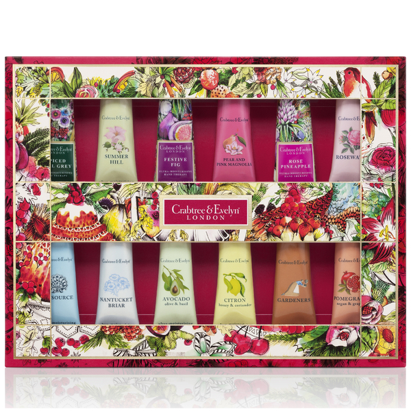 Crabtree & Evelyn Deluxe Hand Therapy Sampler 12x25g (Worth £72.00)