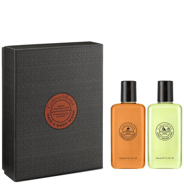 Crabtree & Evelyn Men's Hair & Body Wash Duo