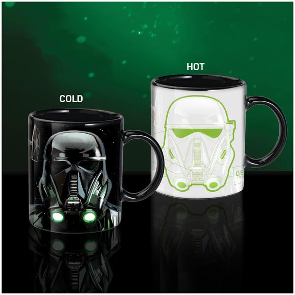 Star Wars Rogue One Death Trooper Heat Change Mug