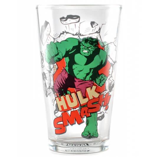 Marvel Avengers Hulk Large Glass In Gift Box Merchandise Zavvide
