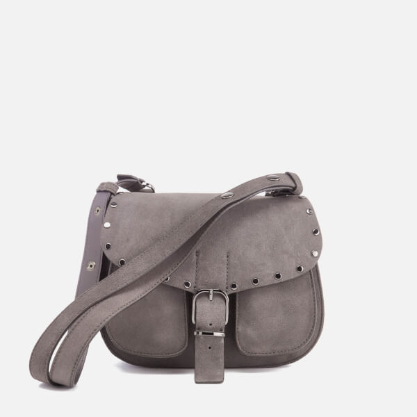 Rebecca Minkoff Women's Biker Saddle Bag - New Grey