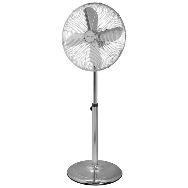 Pifco P40002 16 Inch Chrome Stand Fan Iwoot