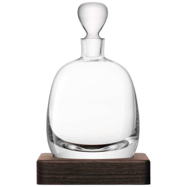 LSA Whisky Islay Decanter & Walnut Base - 1L