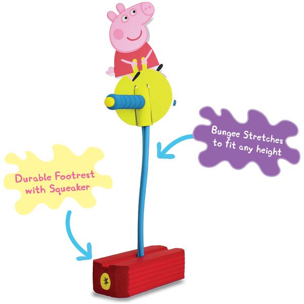 Peppa Pig Pogo 'Hop And Squeak'