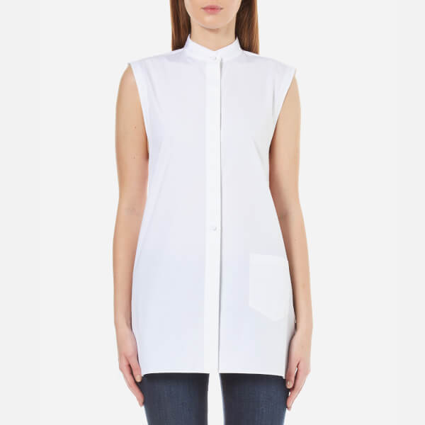 Helmut Lang Women's Apron Shirt - White