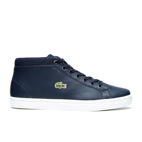 a4d1a6eabee2 Lacoste Men s Straightset Chukka 316 3 SPM Hi-Top Trainers - Navy  Image 1
