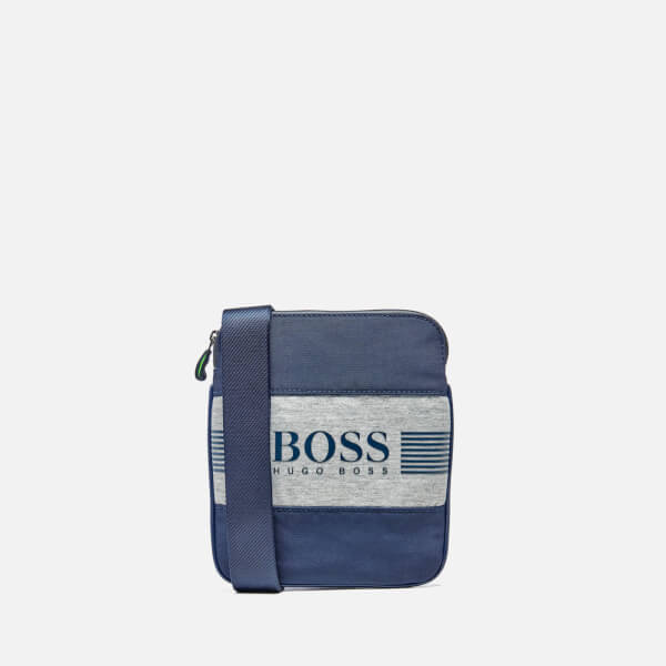 BOSS Green Men's Pixel J Cross Body Bag - Navy
