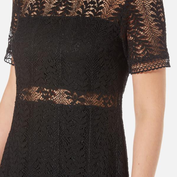 MINKPINK Women s Tell Tale Lace T-Shirt Dress - Black Womens ... de808670e