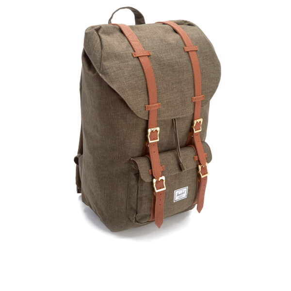 adfd1a33457 Herschel Supply Co. Men s Little America Backpack - Canteen Crosshatch Tan   Image 2