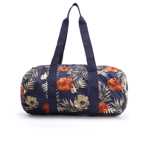 Herschel Supply Co. Packable Duffle Bag - Peacoat Floria - Free UK ... f20a0b304bf2d
