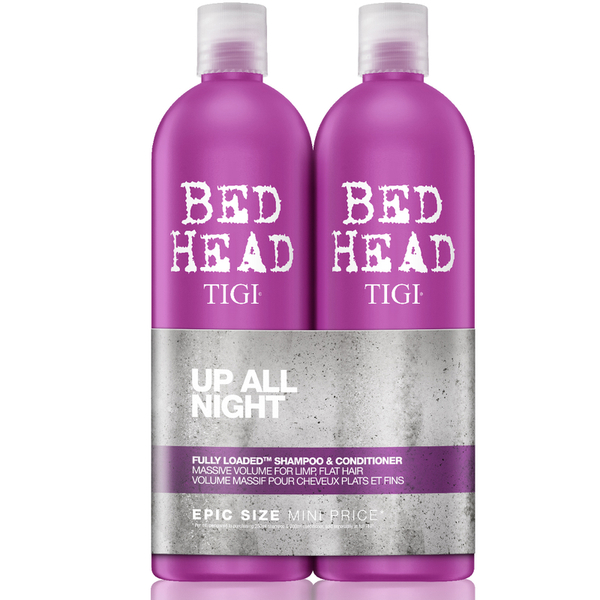 TIGI Bed Head Fully Loaded Massive Volume Tween Duo 2 x 750ml (Worth £47.90)