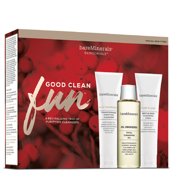 bareMinerals Good Clean Fun Cleanser Trio
