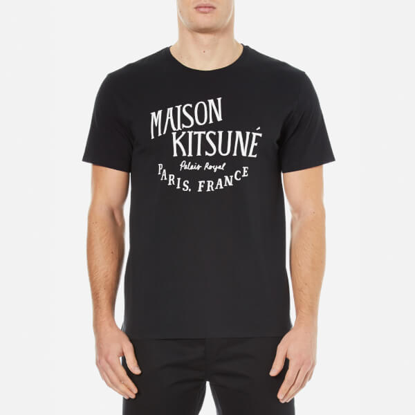 Maison Kitsune Men's Palais Royal T-Shirt - Black