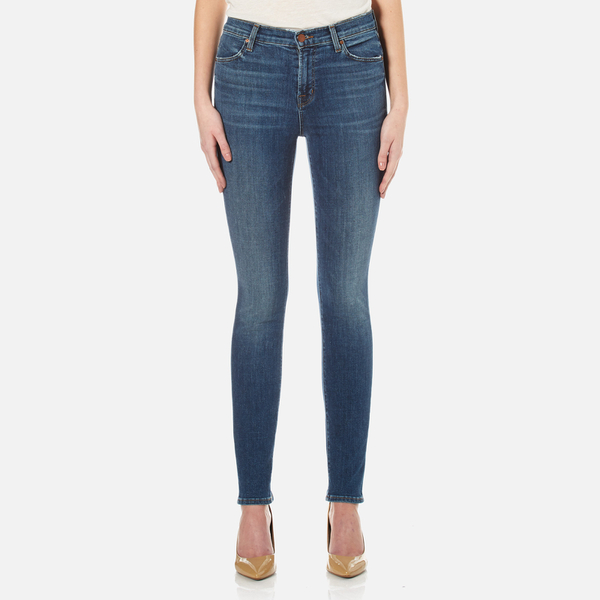J Brand Women's Maria High Rise Skinny Jeans - Identity