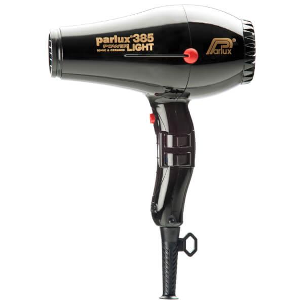 Parlux 385 Power Light Ceramic & Ionic Hair Dryer 2150w - Black