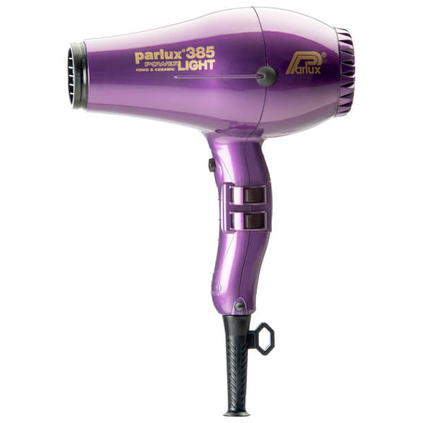 Parlux 385 Power Light Ceramic & Ionic Hair Dryer 2150W - Violet