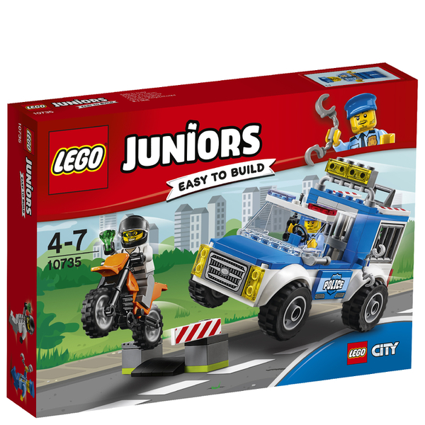 LEGO Juniors: L'arrestation du bandit (10735)