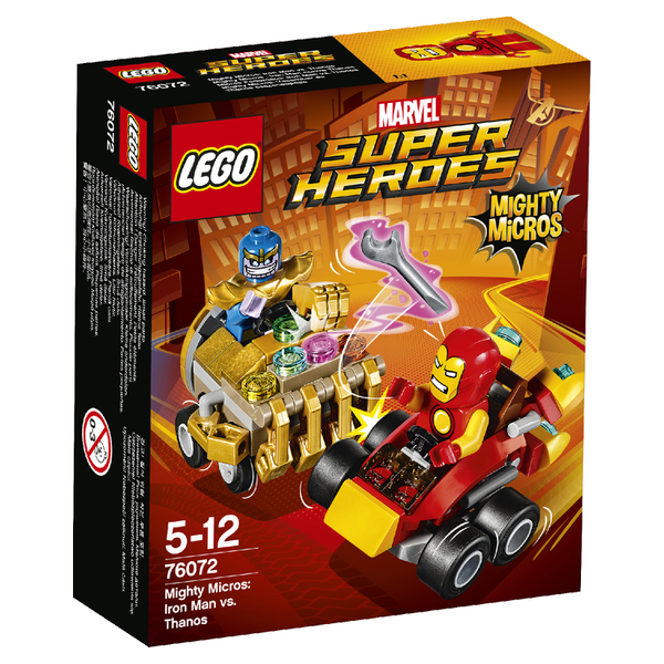 LEGO Superheroes Mighty Micros: Iron Man contre Thanos (76072)