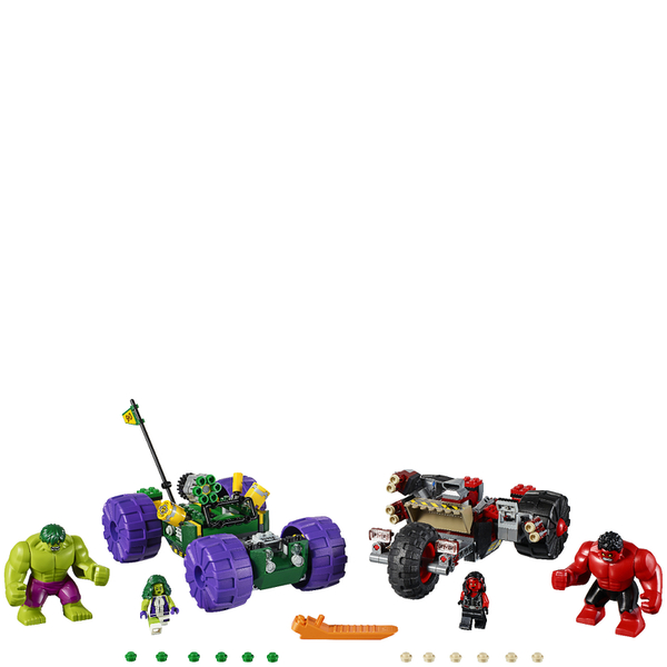 LEGO Marvel Superheroes: Hulk vs. Red Hulk (76078) Toys | Zavvi