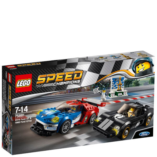 LEGO Speed Champions : Ford GT 2016 & Ford GT40 1966
