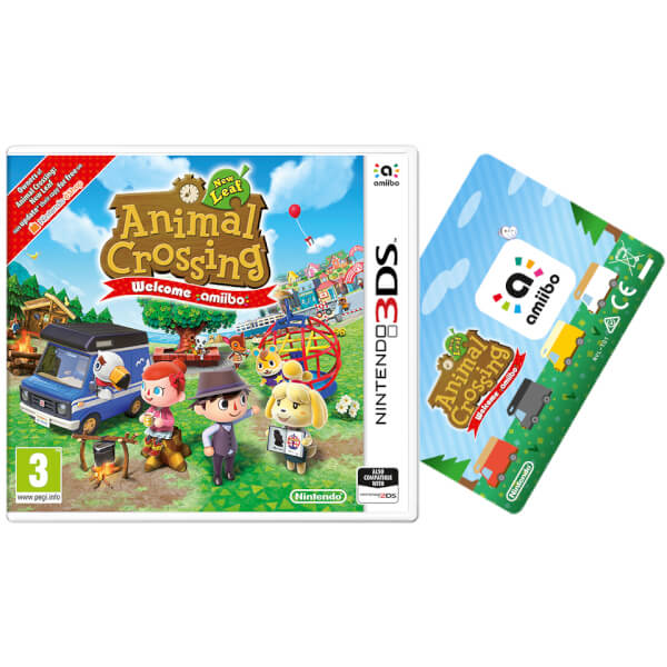 Animal Crossing: New Leaf - Welcome amiibo + amiibo Card