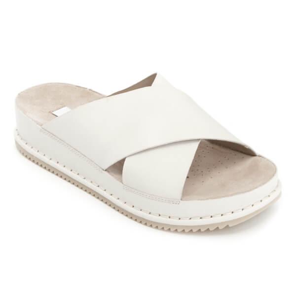 58eda4f768fe Buy clarks white flat sandals cheap