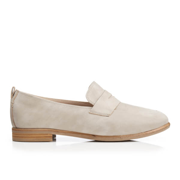 Clarks Women's Alania Belle Suede Loafers - Sand: Image 1