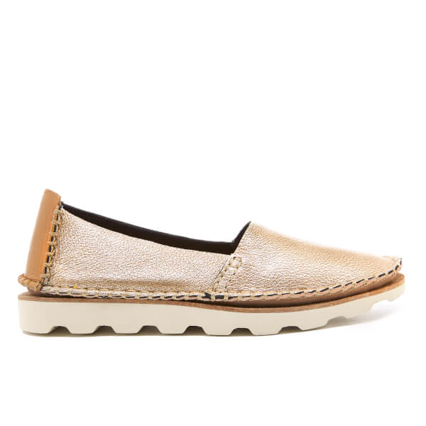 Clarks Women's Damara Chic Metallic Espadrilles - Gold