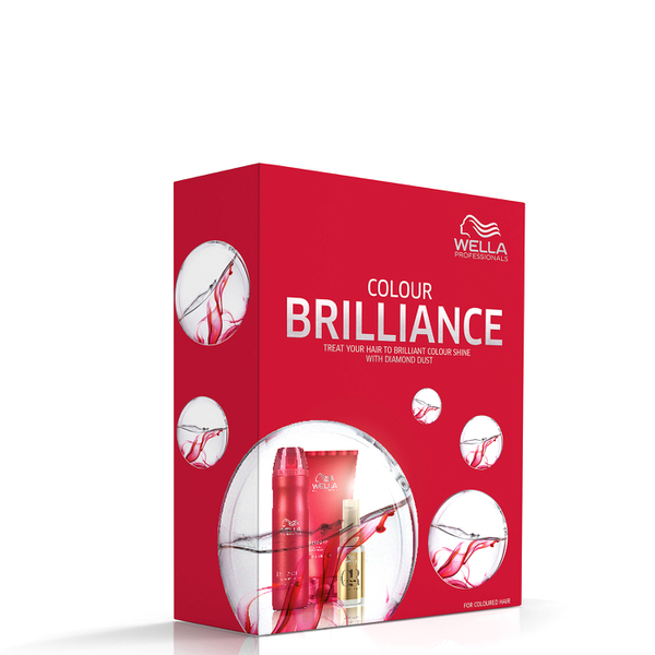 Wella Brilliance Gift Set (Worth £28.99)