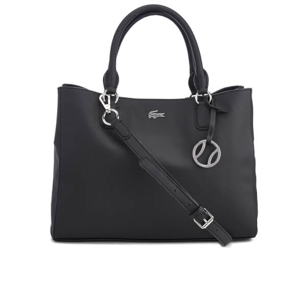 Lacoste Women's Large Shopping Bag - Black